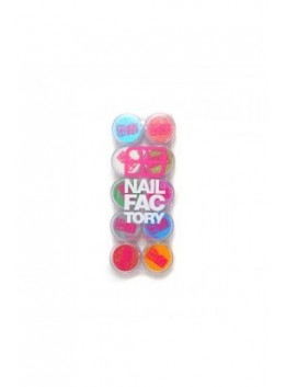 KIT NAIL FACTORY GLITTER II