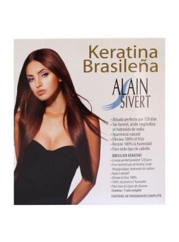 TRATAMIENTO ALAIN SIVERT ALACIADO KERATINA BRASILEÑA
