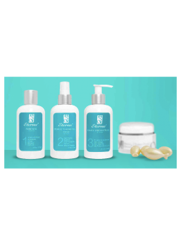 SET ETERNA ANTI-AGE  (PURENESS+TONIC+DAILY CREAM+CAPSULAS)