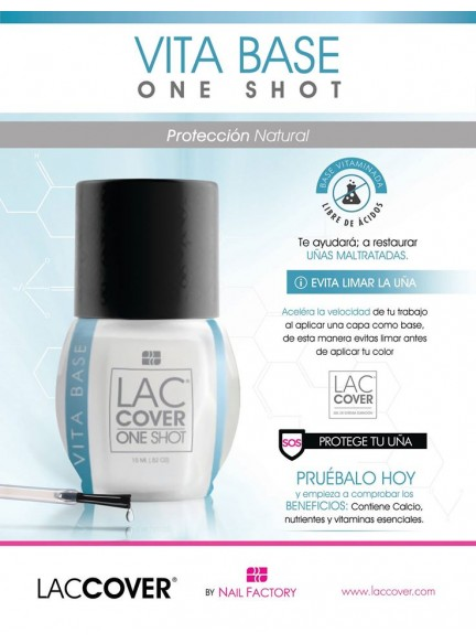 ESMALTE ONE SHOT VITA BASE