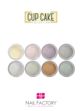 KIT NAIL FACTORY CUP CAKE 8 PZAS