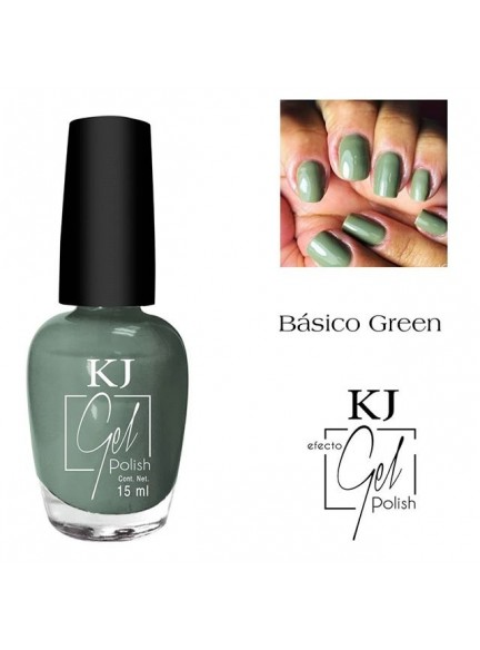 ESMALTE KJ POLISH GEL BASIC GREEN