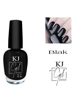 ESMALTE KJ POLISH GEL BLACK