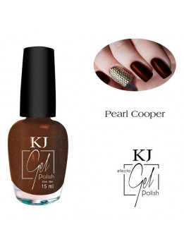 ESMALTE KJ POLISH GEL COPPER PEARL