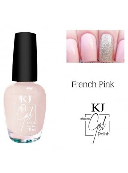 ESMALTE KJ POLISH GEL FRENCH PINK