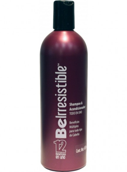 SHAMPOO REVLON BE IRRESISTIBLE 12 BENEFICIOS